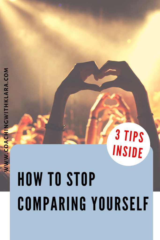 How to stop comparing yourself to others. In this article I talk about the daily influence of social media on our life. I share with you tips on how to stop comparison that can cause anxiety, low self-esteem, addictions and more. As women entrepreneurs we often fall into comparing our steps, our lives or businesses, relationships to others and we feel behind in life.