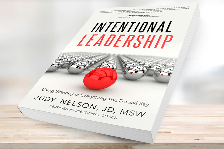 Judy Nelson | Author | Intentional Leadership
