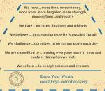 Ventura Healing Center Manifesto - Know Your Worth