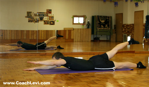 How to do the Alternating Superman (Bodyweight Exercise)