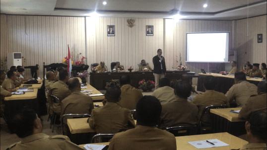 Pembekalan Leadership Kepala Dinas Maluku Tenggara 2018