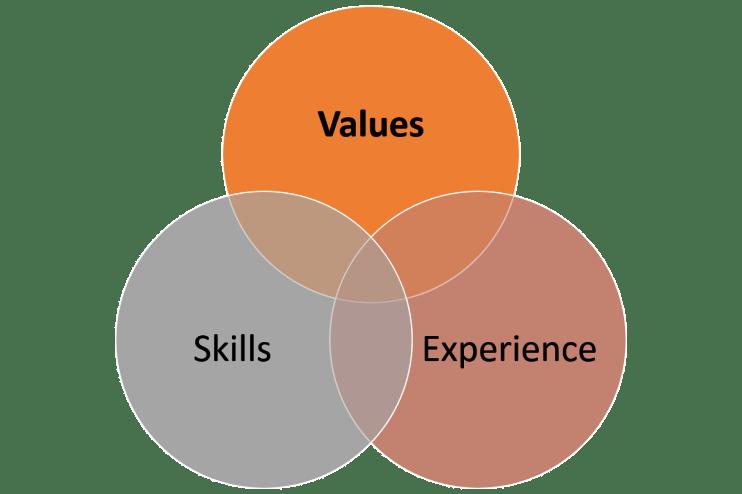 Values-Skills-Experience