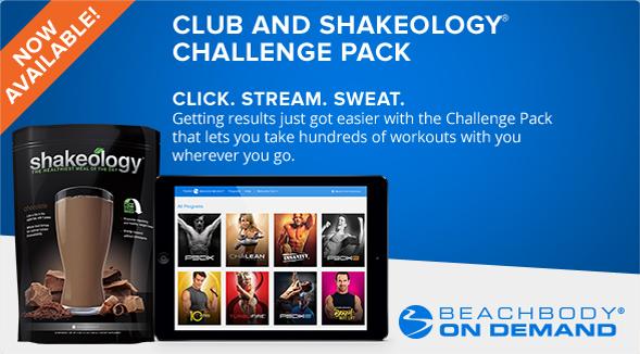 Beachbody Club Challenge Pack