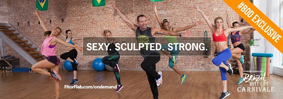 Carnivale with Leandro, exclusive Beachbody on Demand