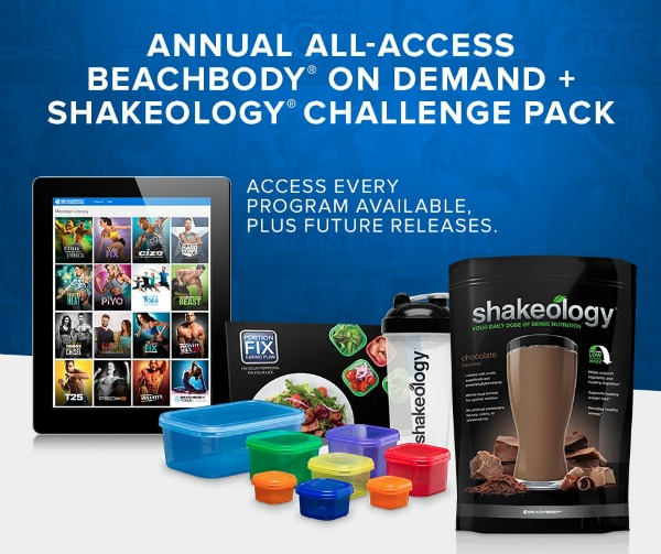 February 2017 Beachbody Challenge Pack promo