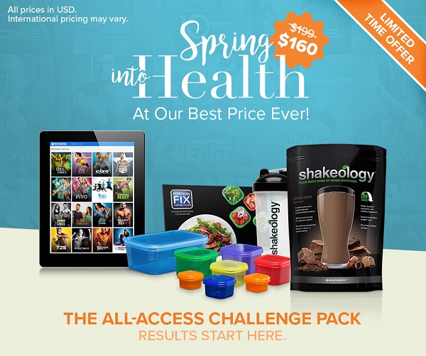 Beachbody On Demand Challenge Pack Sale