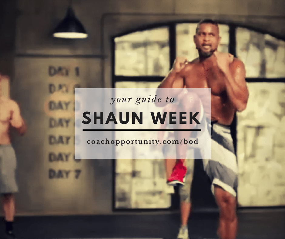 New Workouts from Shaun T