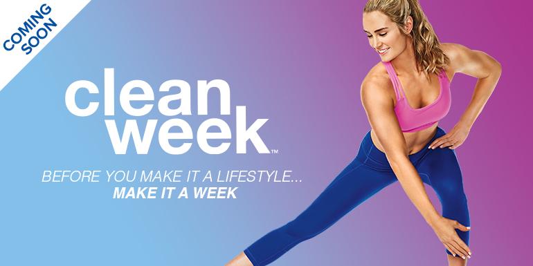 Clean Week with Megan Davies