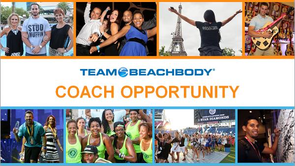 Team Beachbody Coach Opportunity