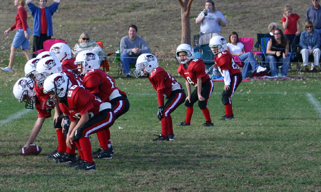Top Youth Football Offense - Pirates Beast Wide Sweep