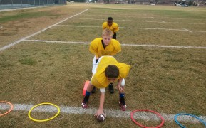 pee wee football drills