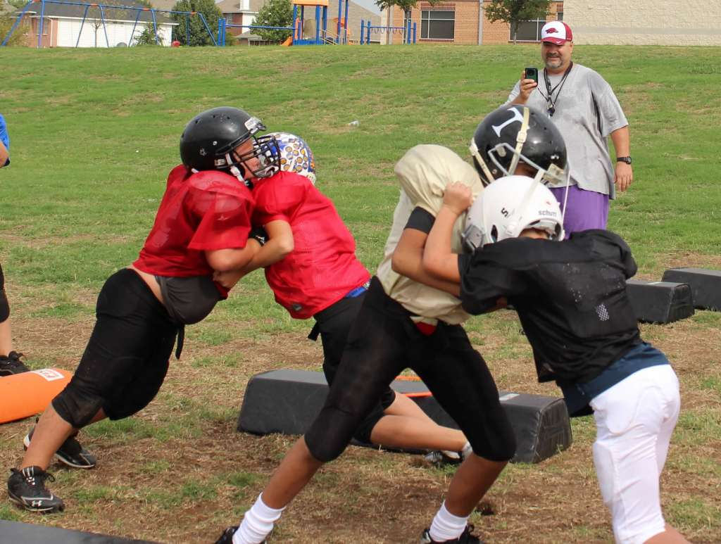 youth football blocking tips