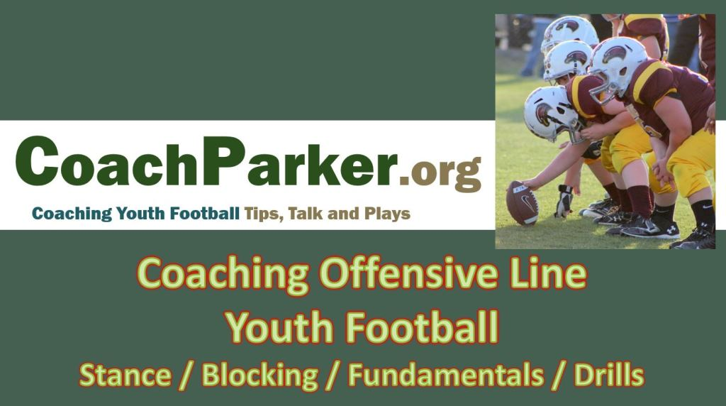 coaching offensive line youth football