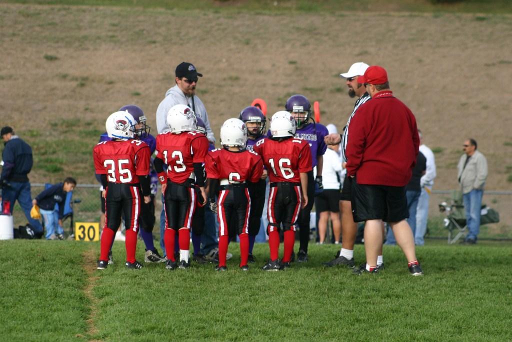 coaching youth football basics 101 coin toss