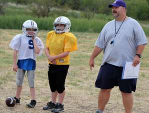 football practice plans for youth football coach parker