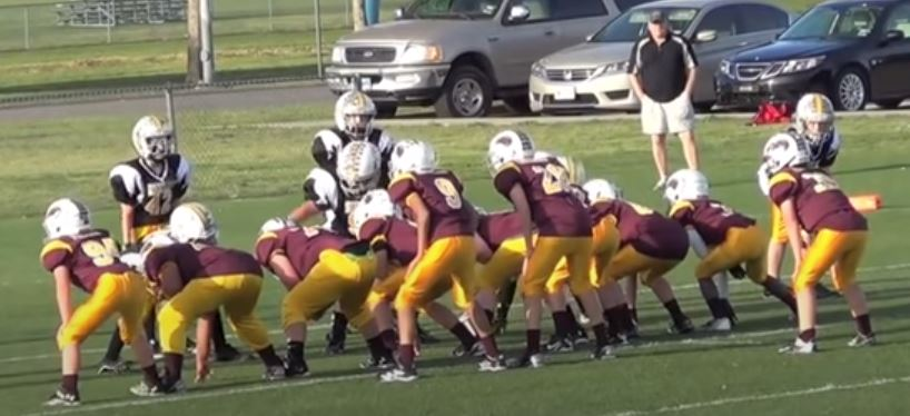 power I formation youth football plays by coach parker