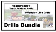 youth football drills bundle