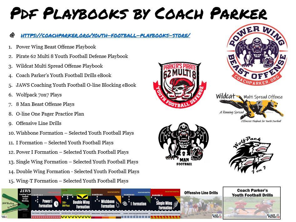football pdf playbooks parker