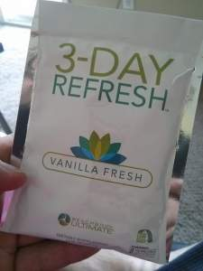 3 day refresh vanilla fresh
