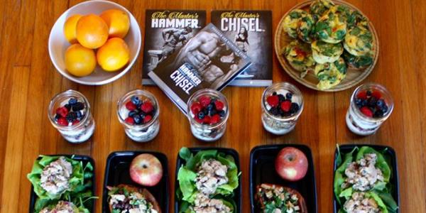 Hammer and Chisel Meal Plan Prep