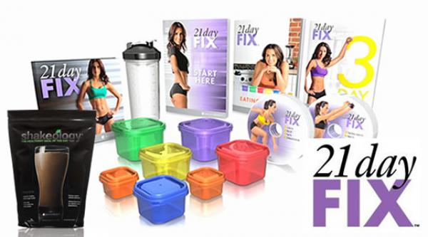 what comes with the 21 day fix