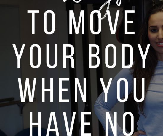 how to exercise and move when you are busy