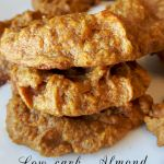 Low carb almond butter pumpkin cookies (Paleo, grain free, gluten free, Gaps)