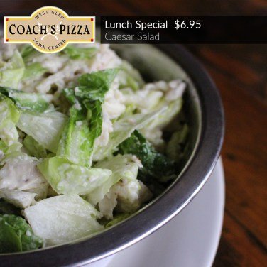 Lunch Special: Caesar Salad $6.95