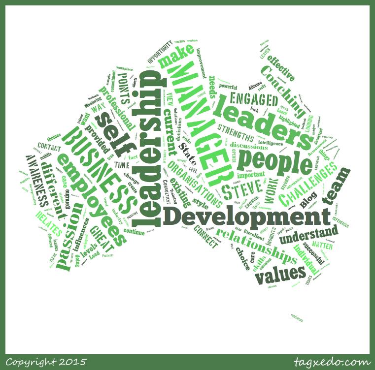 CoachStation: 13 Leadership Gaps Blog Word Cloud