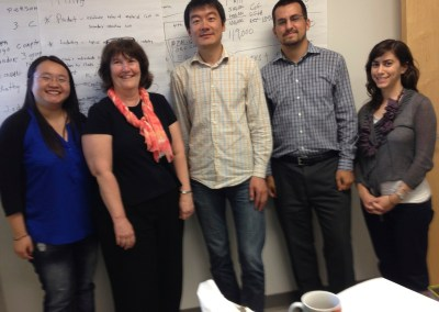 The 889 Global Solutions crew in Cincinnati