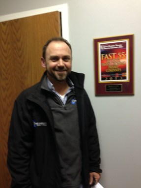 Our client Tony Stobl, of Cincinnati Crane