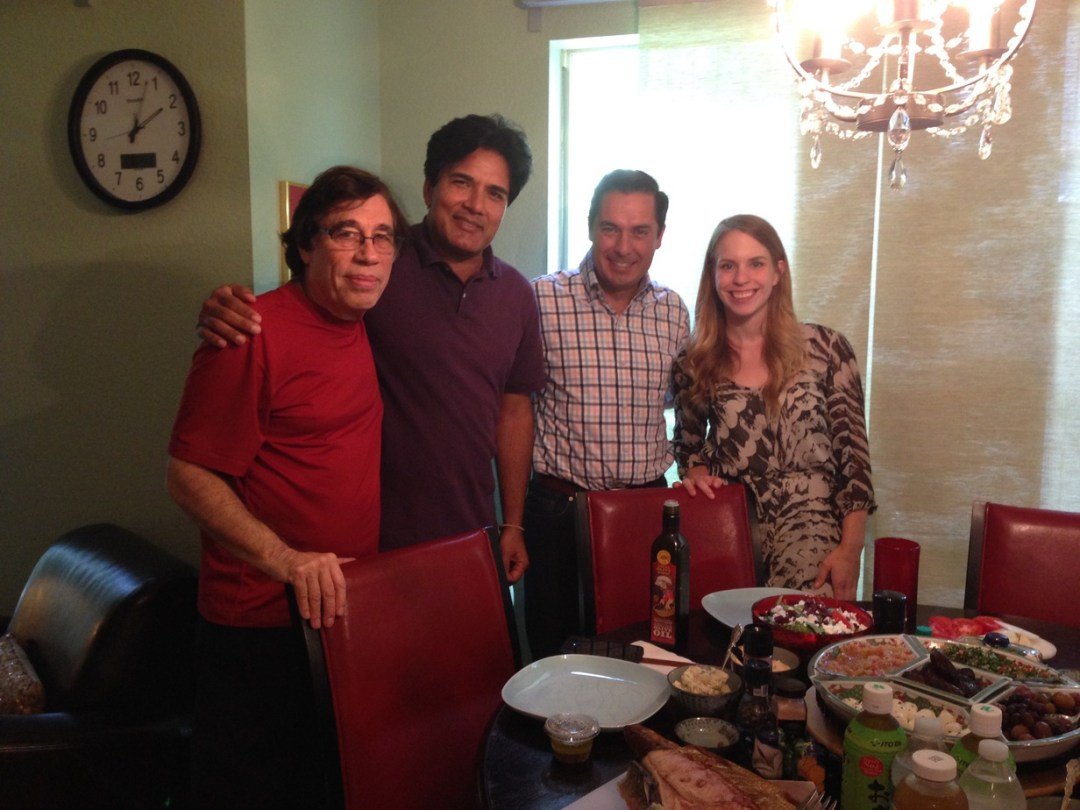 Lunch break during the creation of Evolution Salt's successful loan package presentation with Juan Gonzalez.