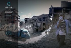 Watch the devastating aftermath of the Nepal earthquake in virtual reality