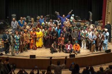 Chicago - 50 AACM Members celebrate 50th Anniversary of AACM - Association for Advancement of Creative Musicians - April 2015- Mandel Hall - Photo by Tony Smith