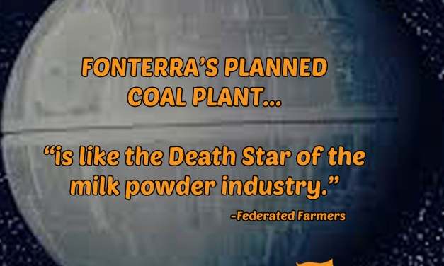 "Fonterra coal boiler decision ""ridiculous"""