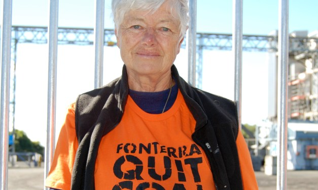 Jeanette Fitzsimons, the coal campaigner