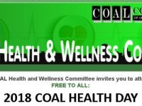 COAL Health Day October 20, 2018