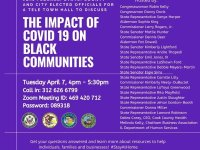 Discussion: Covid-19 and Black Community April 7th, 8th