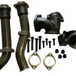 1999 2003 ford 7 3l powerstroke turbo diesel bellowed up pipe kit