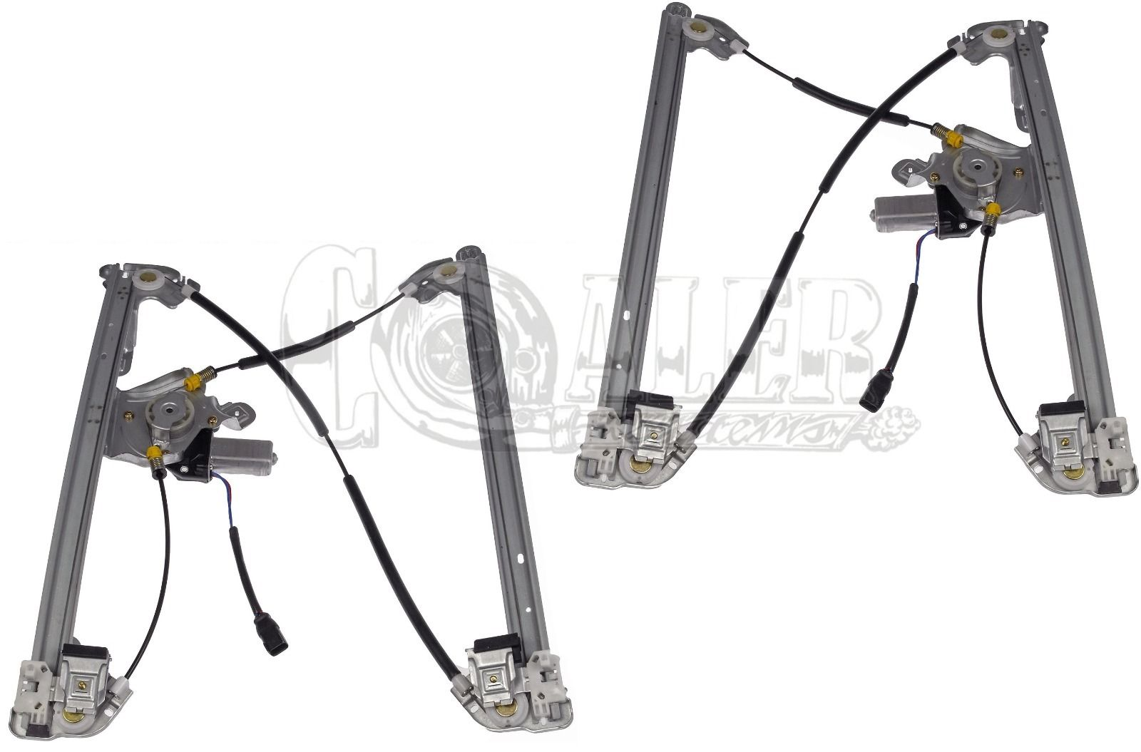 Ford F150 Window Regulator W Motor Front Set 741 431 741 430