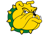 This image has an empty alt attribute; its file name is doddridgecountybulldogs.png