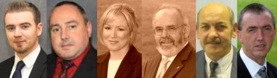 Sinn Fein Dungannon Council torrent candidates
