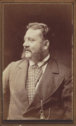 Unidentified bearded Gentlemen photographed by William Francis Roberts, Newcastle, circa 1879-1888. (Photo Credit: Digitised by Anne Glennie from the Glennie Family Albums)