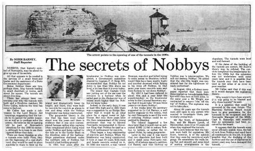 The Secrets of Nobbys