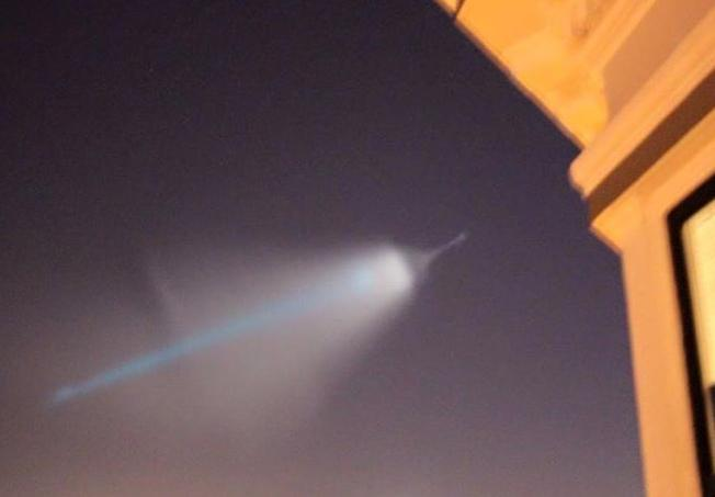 """Mysterious military maneuvers"" and West Coast Lights"