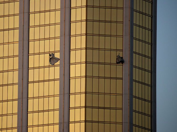 Change in story: Las Vegas gunman shot security guard a full six minutes before opening fire on concertgoers