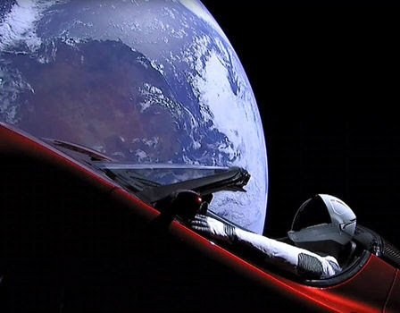 Very divergent conspiracy theories abound about Elon Musk's Roadster in space