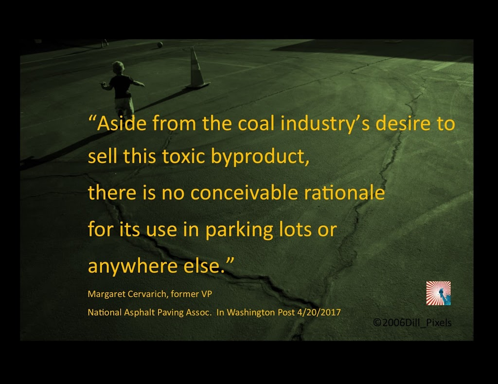 """No Conceivable Rationale"" for Coal Tar Use, Former Insider Says"