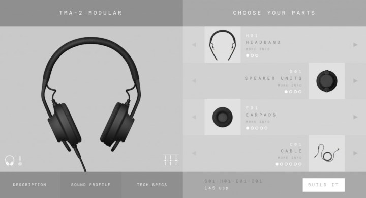 TMA-2_Modular_Headphone_System