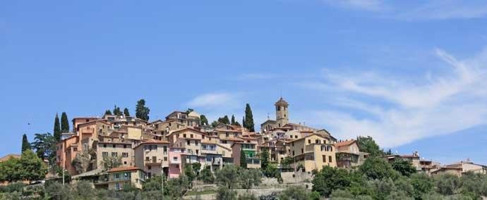 coaraze village